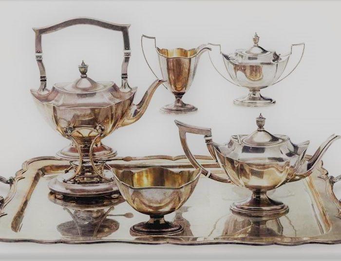 Американское серебро: от стиля королевы Анны к рококо