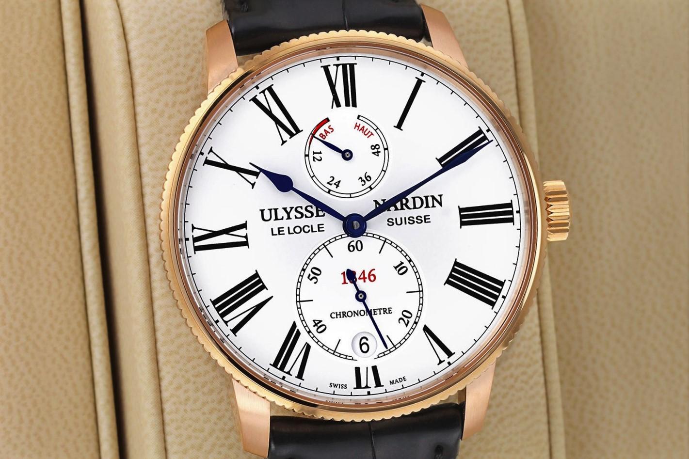 Часы Ulysse Nardin Marine Torpilleur